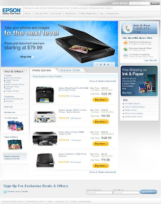 Epson Store Coupons and Deals